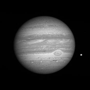New Horizons spots Jupiter's spots