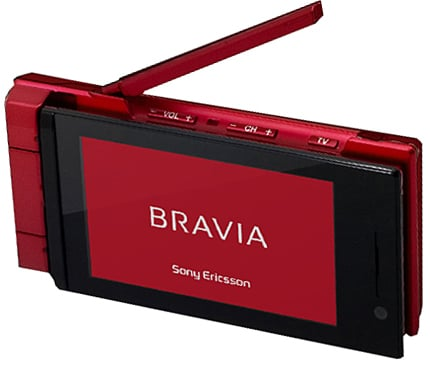 sony ericssion so903itv bravia phone