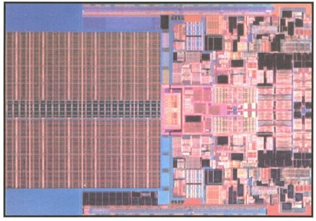 intel's 45nm penryn dual-core die