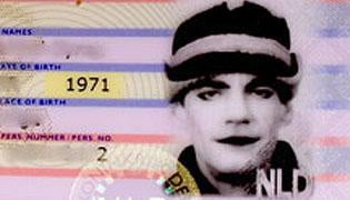 Man dressed as The Joker gets Netherlands ID card