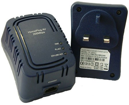 solwise pl-200av powerline ethernet adaptor