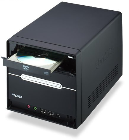 shuttle xpc p2 chassis