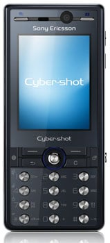 sony ericsson k810i cyber-shot camera phone