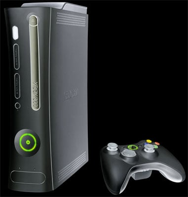 the black xbox 360? no, an artist's impression