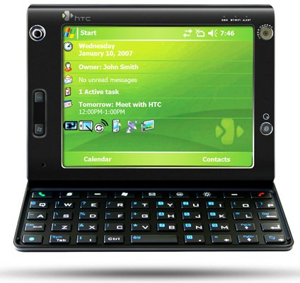 htx x7500 advantage umpc-like phone