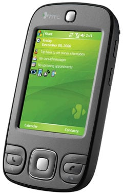 htc p3400 business pda phone