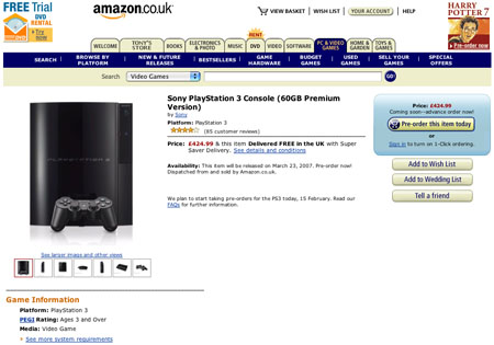 amazon.co.uk ps3 page at 13:40 gmt
