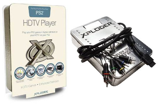 PS2 HDTV player