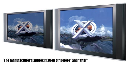 xploder hdtv player for ps2 - before and after
