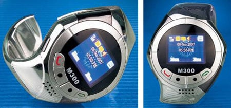 sms technology australia's m300 wrist-phone