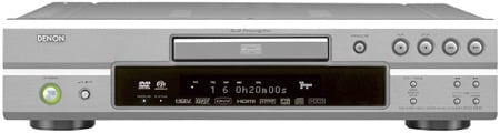 denon dvd-2930 hd-ready upscaling dvd player