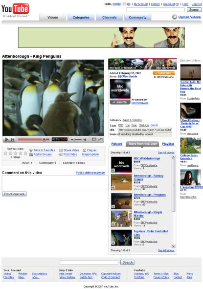 King Penguins - BBC on YouTube