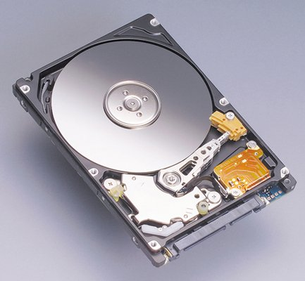 Fujitsu 160GB 2.5in SATA II hard drive