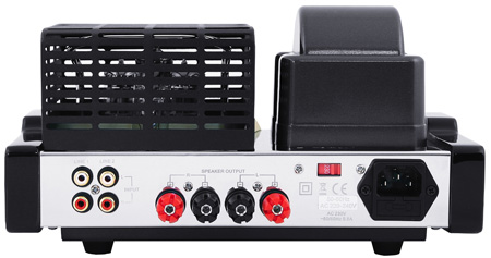 Fatman iTube amplifier - back