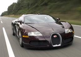 The Bugatti Veyron. Picture: Bugatti