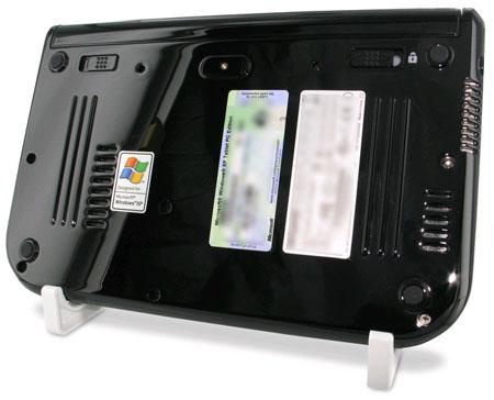 Ubiquio 701 UMPC - back