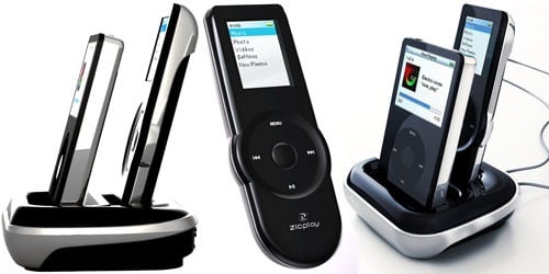Ziplay Ewoo iPod dock and remote control