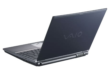 Sony Vaio VGN-TX5XN laptop