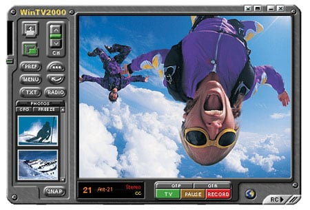 Hauppauge WinTV2000 software