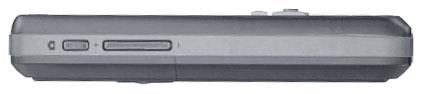 O2 XDA Graphite smart phone - side