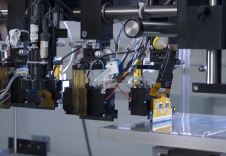 Nanoident circuitry printer head