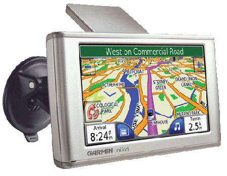 Garmin NuVI 670 GPS device