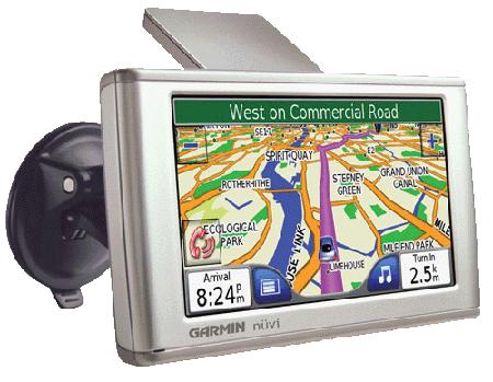 Garmin NuVI 670 GPS device