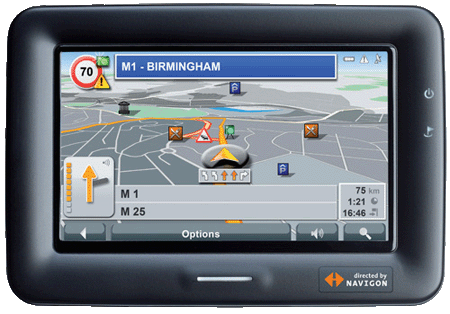 Navman N60i GPS navigation device