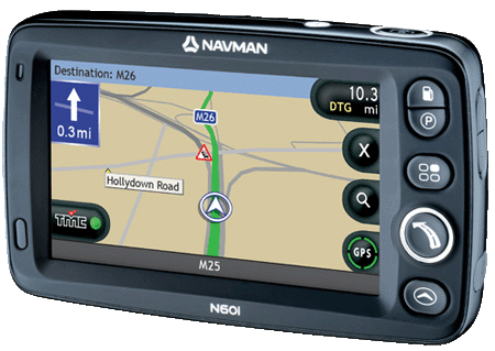 Navman N60i GPS navigation device
