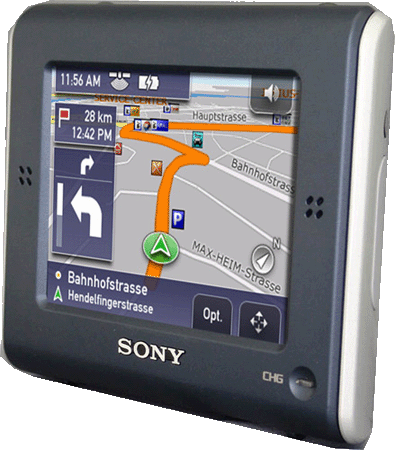 Sony NV-U51 GPS navigation device