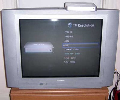 Apple TV running at 480i - image courtesy Rogue Amoeba