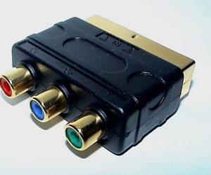 YUV-SCART adaptor