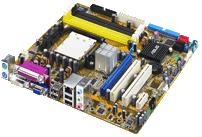 Asus M2A-VM AMD 690G-based motherboard