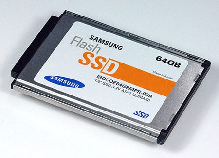 Samsung 64GB 1.8in solid-state hard drive