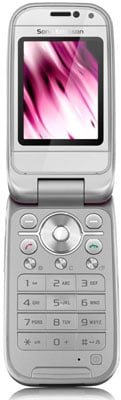 Sony Ericsson Z750 - front