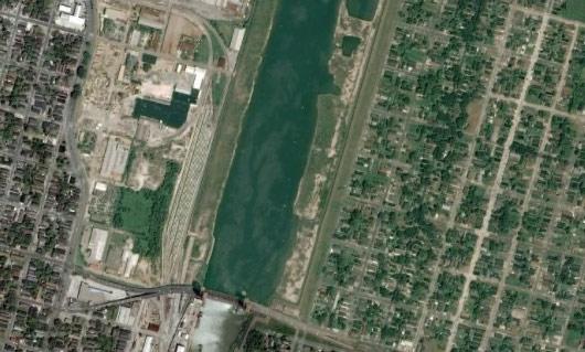 New Orleans as seen last week on Google Earth