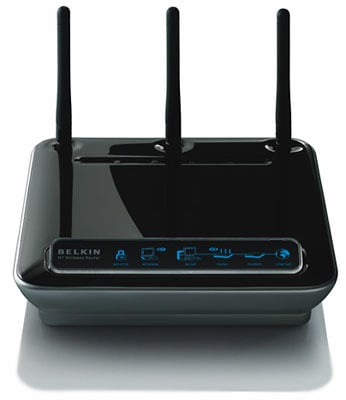 Belkin N1 802.11n wireless router