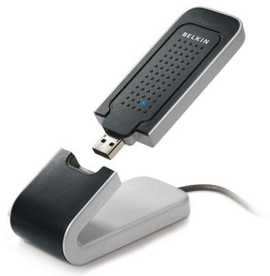 Belkin N1 802.11n wireless usb adaptor