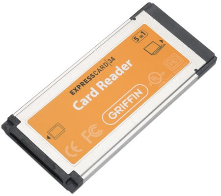 Griffin Technology ExpresCard 5:1 Card Reader