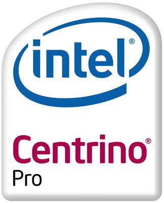 Intel's Centrino Pro logo