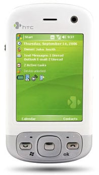 HTC P3600 PDA phone