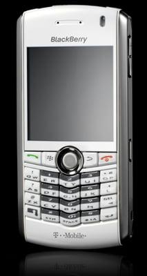 RIM T-Mobile white Pearl - front