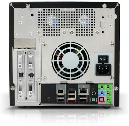 Shuttle SDXi 1337 - back
