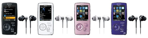 Sony Walkman Video MP3 NW-A800