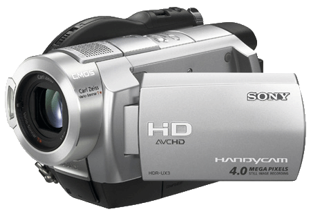 Sony HDR UX3 camcorder