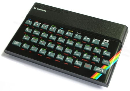 Sinclair... er... Amstrad ZX Spectrum