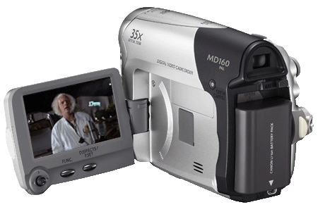 Canon MD160 camcorder