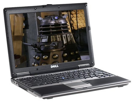Dell Latitude D420 - Dalek image courtesy BBC/Terry Nation