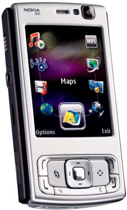 Nokia N95 S60 menu