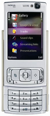 Nokia N95 - primary slider